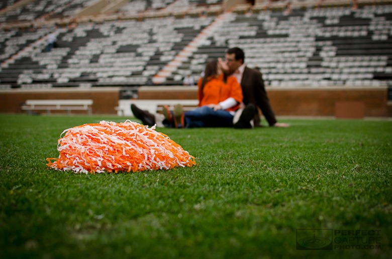 Neyland Stadium Engagement Photos