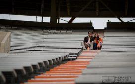 Neyland Stadium Engagement Session – Melissa and Eric