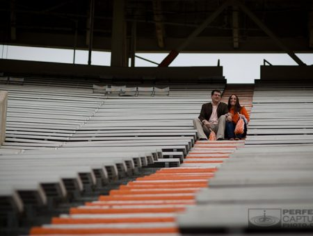 Neyland Stadium Engagement Session – Melissa and Eric