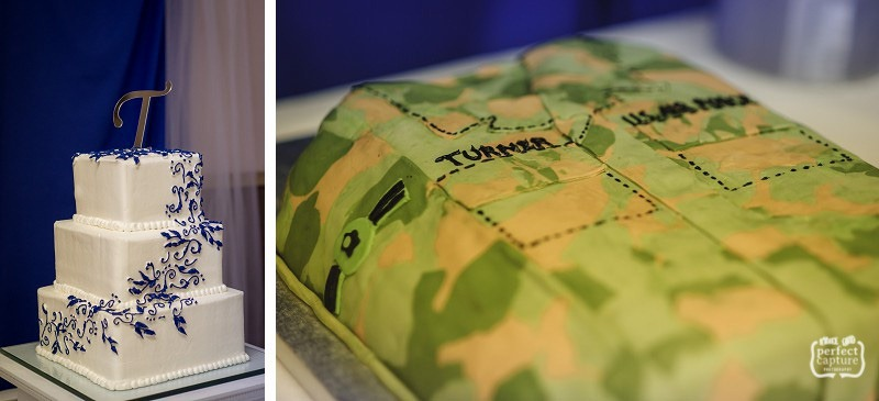 Air Force Groom's Cake