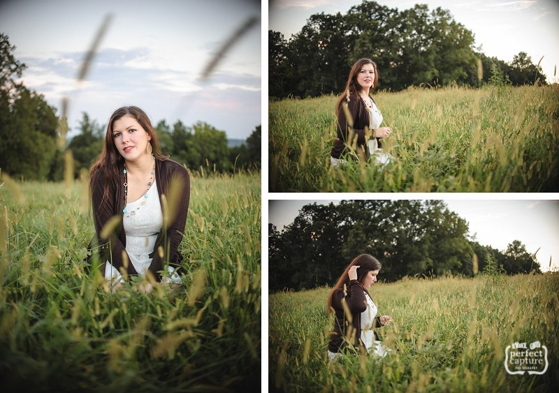 Outdoor glamour photography