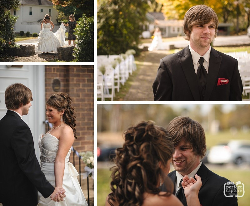 Knoxville wedding - first look