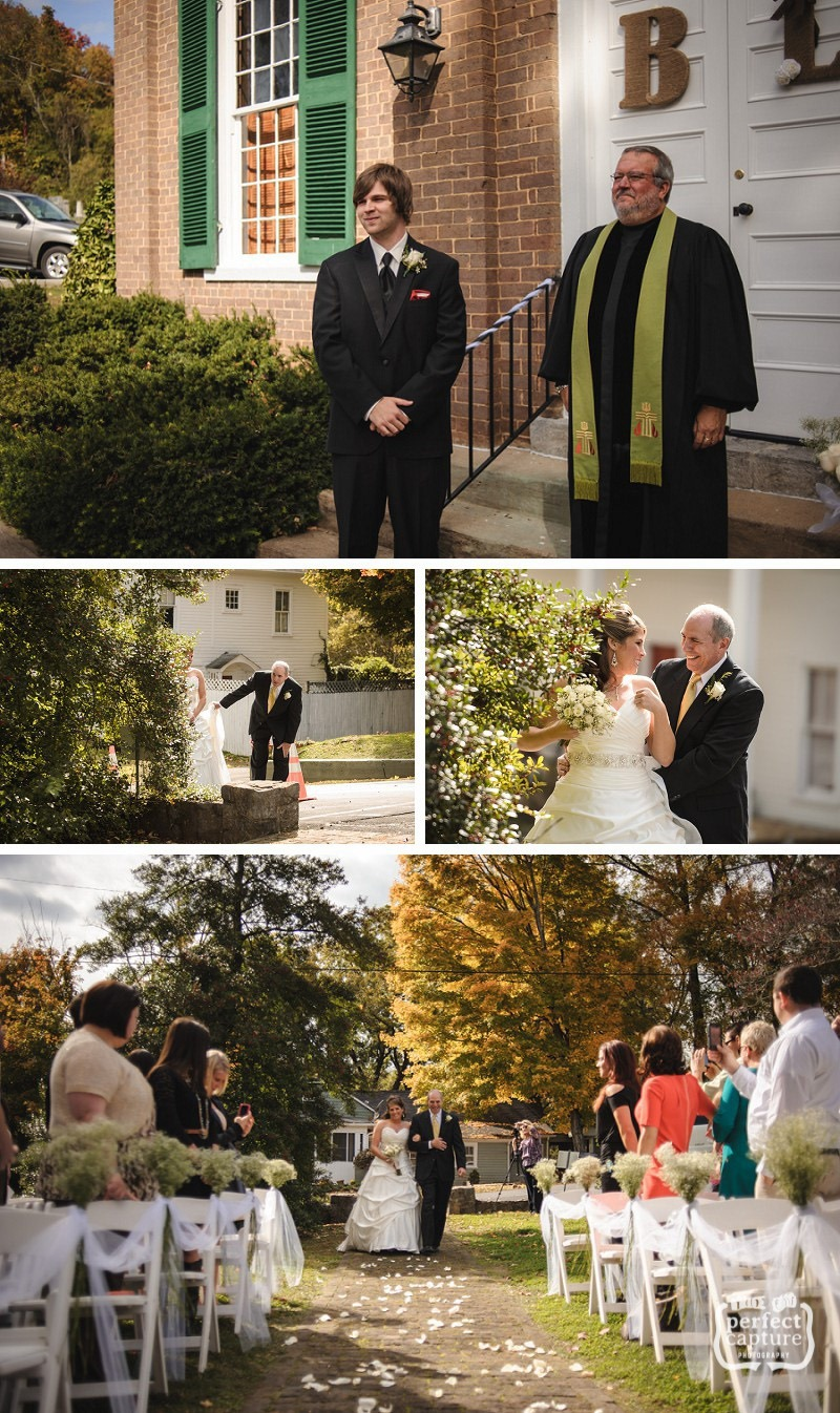 Knoxville wedding - here comes the bride!