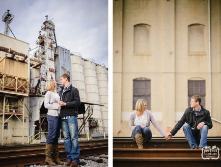 Knoxville Old City Engagement • Hannah and Olin