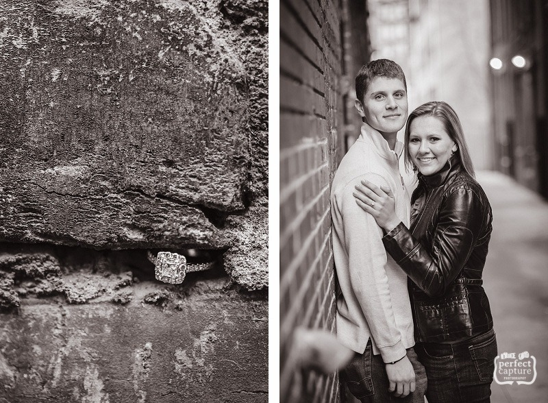 Old City Knoxville Engagement Photography