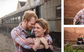 Downtown Knoxville Engagement session with Alyssa and Adam