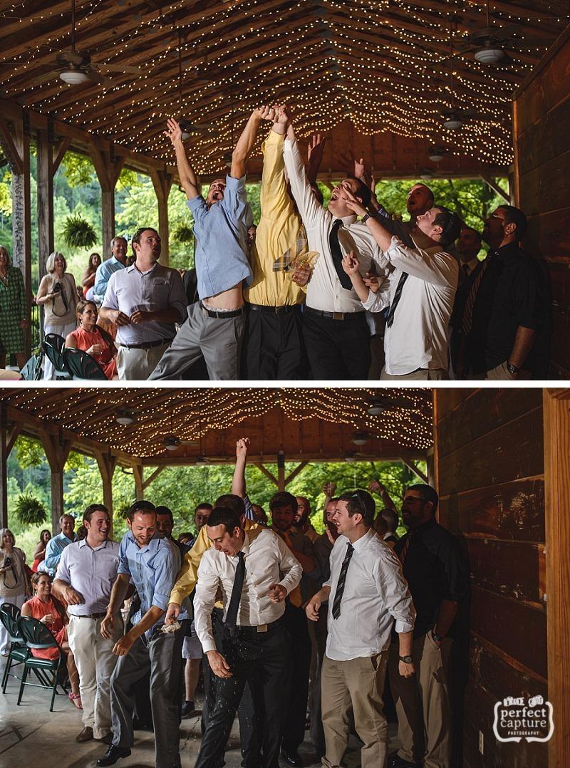 lily barn reception