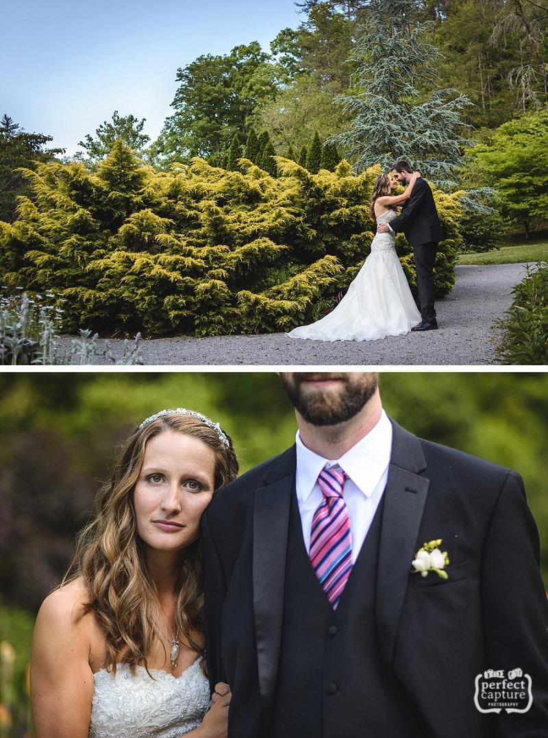 lily barn wedding portraits