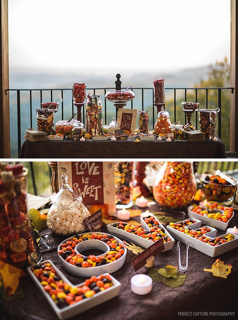Candy buffet in the Smoky Mountains