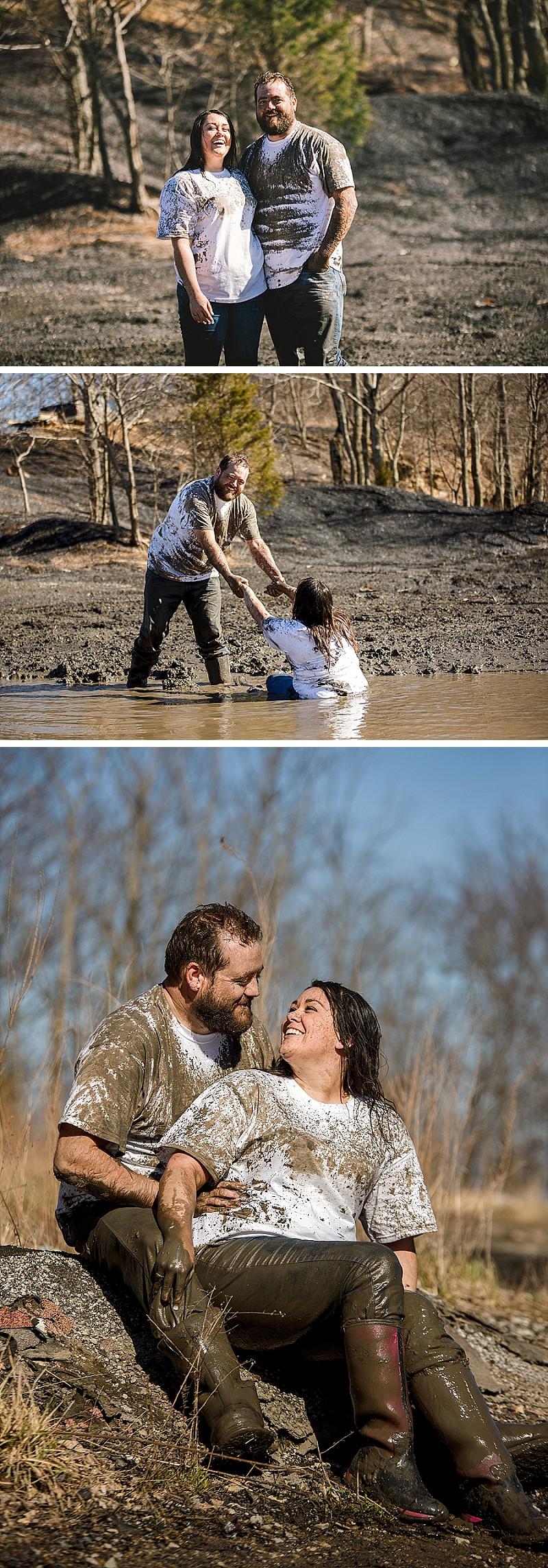 Muddy but still having fun