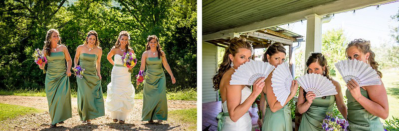 Fun bridesmaids photos