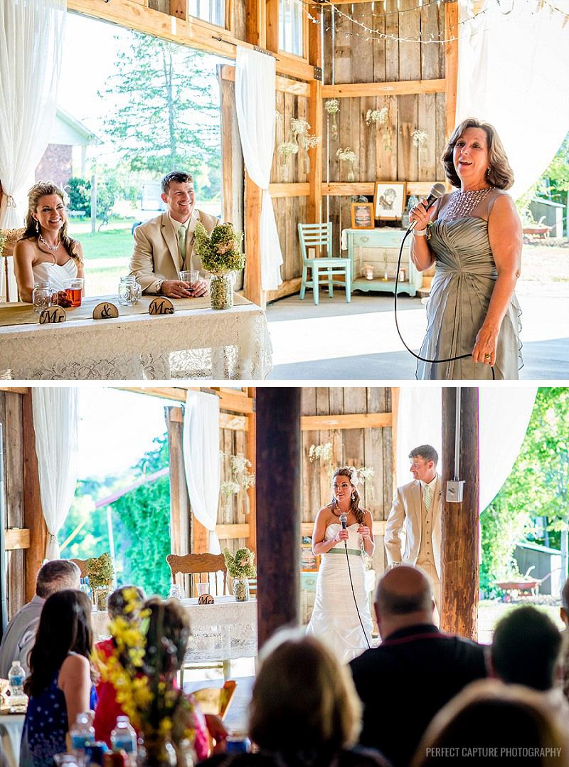 Wedding at the Barn at High Point Farms