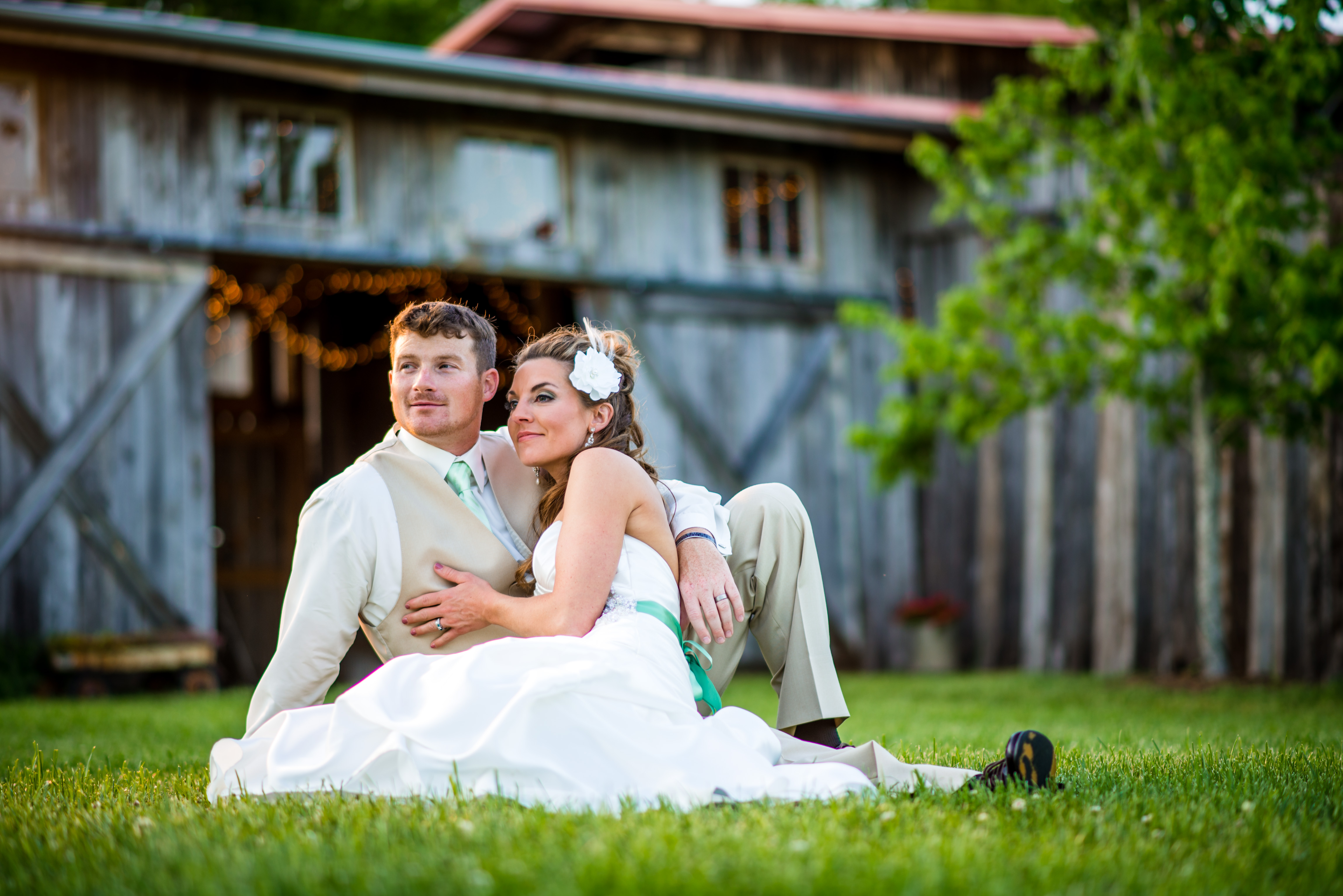 Chattanooga Wedding Photographers at the Barn at High Point Farms