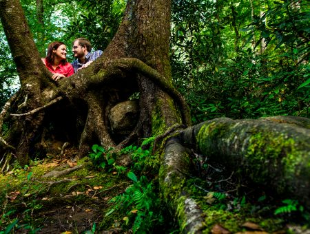Dianah and Ryan | Hiking Engagement Session