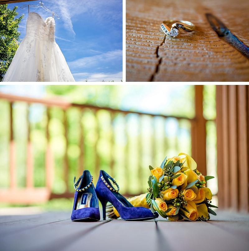 blue velvet wedding shoes