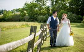 Twin Cedar Farm Wedding | Katie and Frank