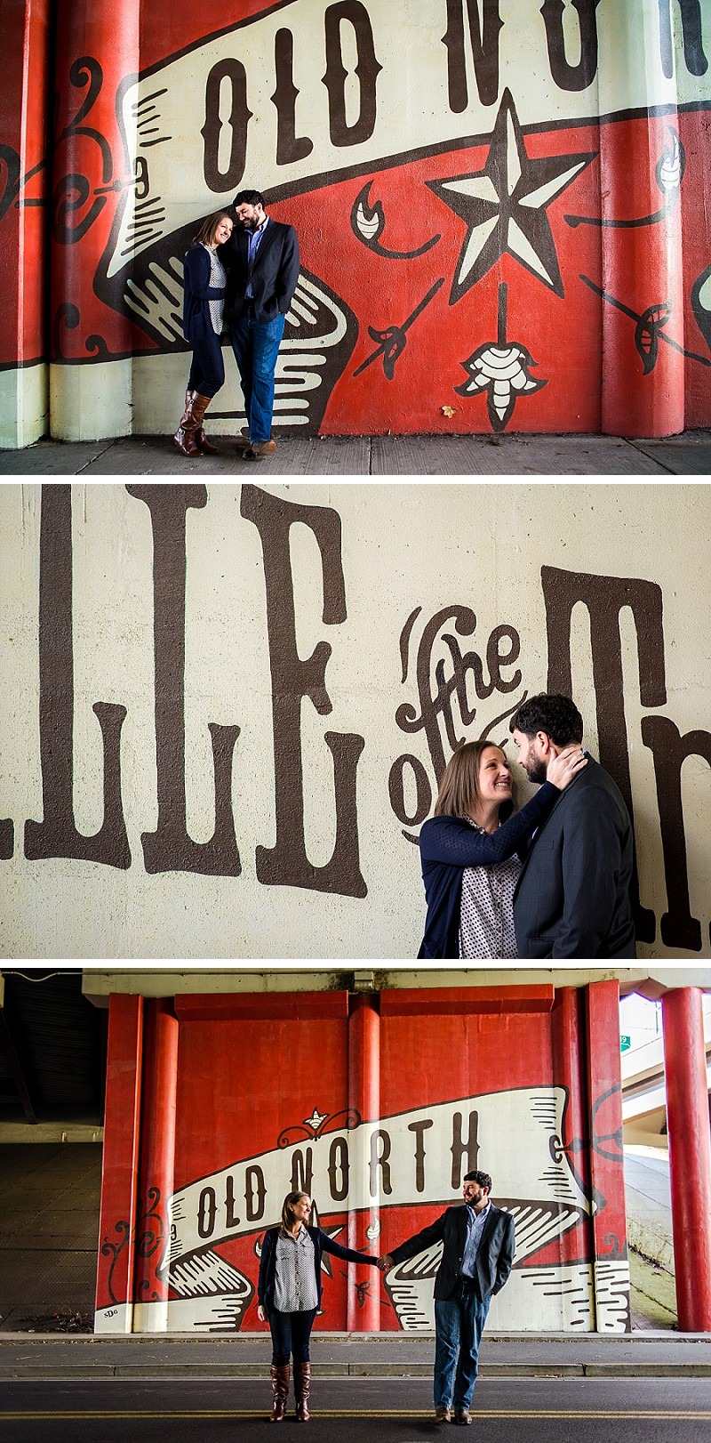 Old North Knoxville engagement session