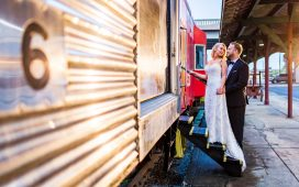 Southern Depot Wedding | Heather and Justin