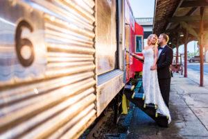 Wedding reception at Southern Depot