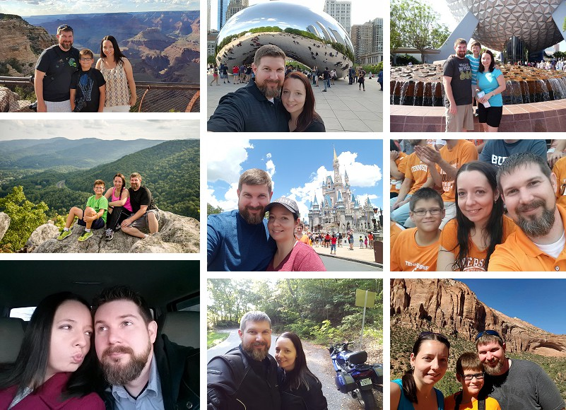 Jimmy and Kim personal photos