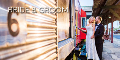 Knoxville bride and groom portraits
