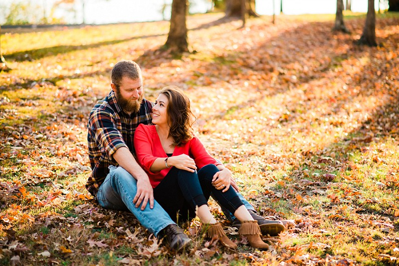 Knoxville Fall engagement