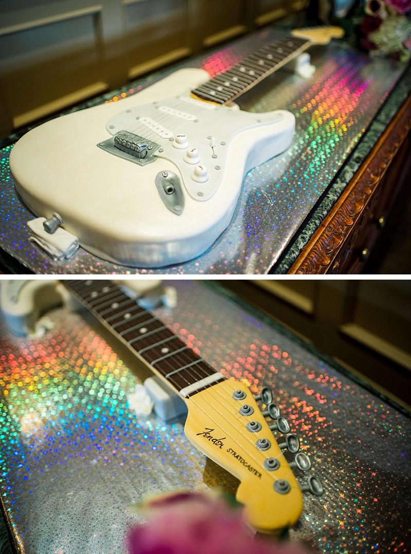Stratocaster wedding cake