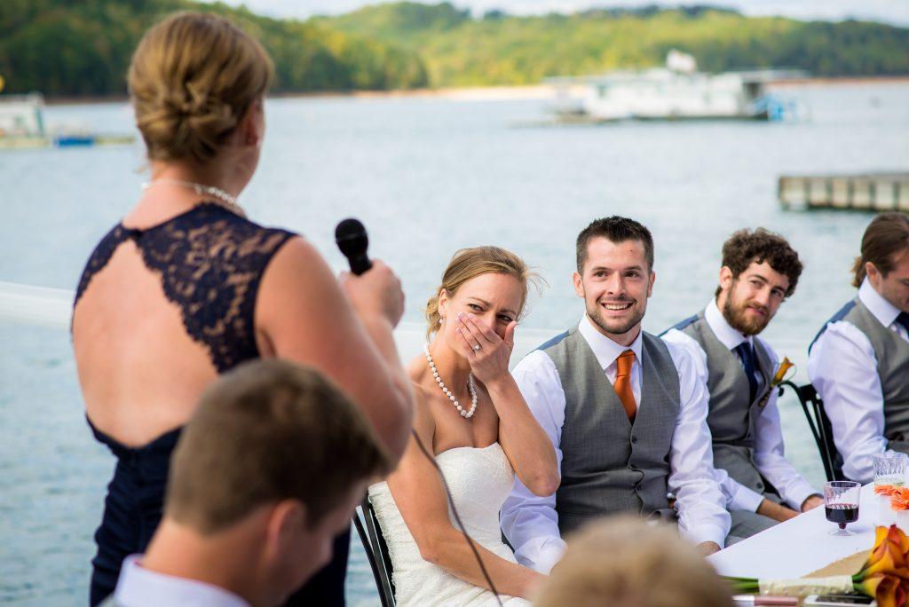 norris lake wedding