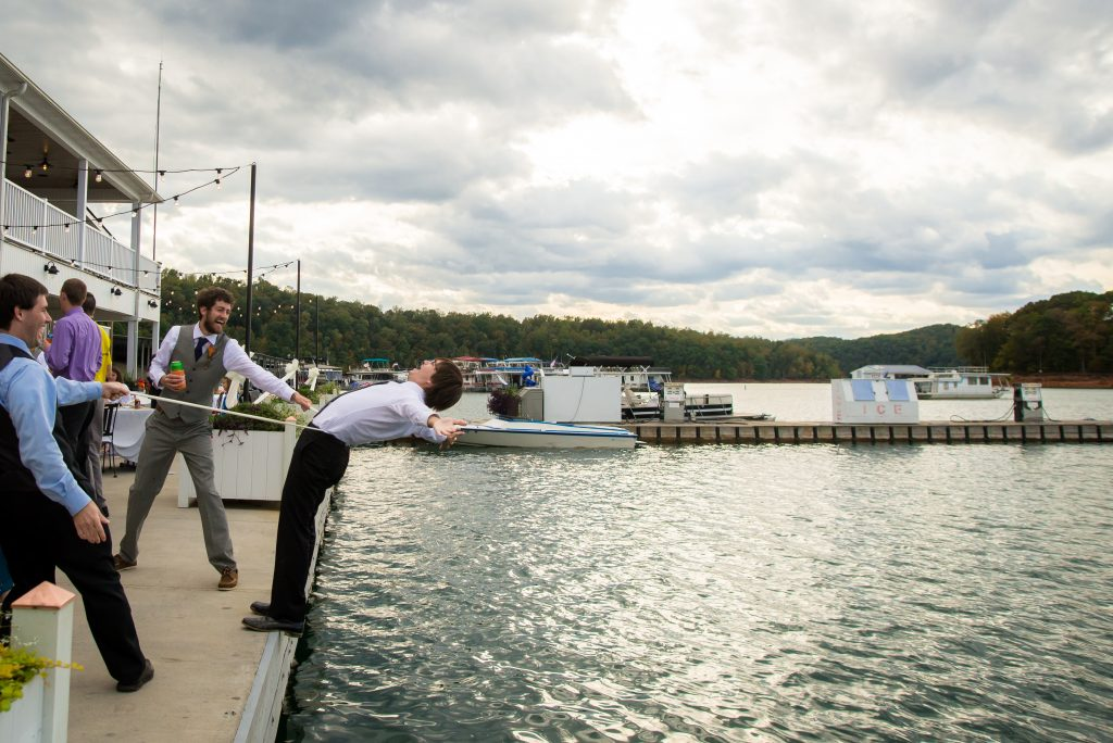 norris lake wedding