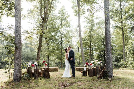 Backyard Wedding in TN   Mandy & Pete