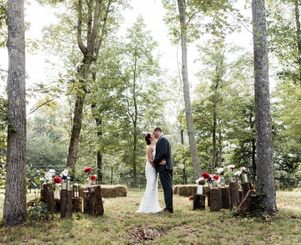 Backyard Wedding in TN | Mandy & Pete