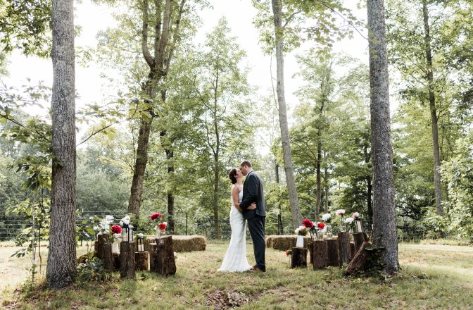 Backyard Wedding in TN | Mandy & Pete